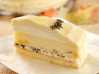 スイートポテトチーズケーキ