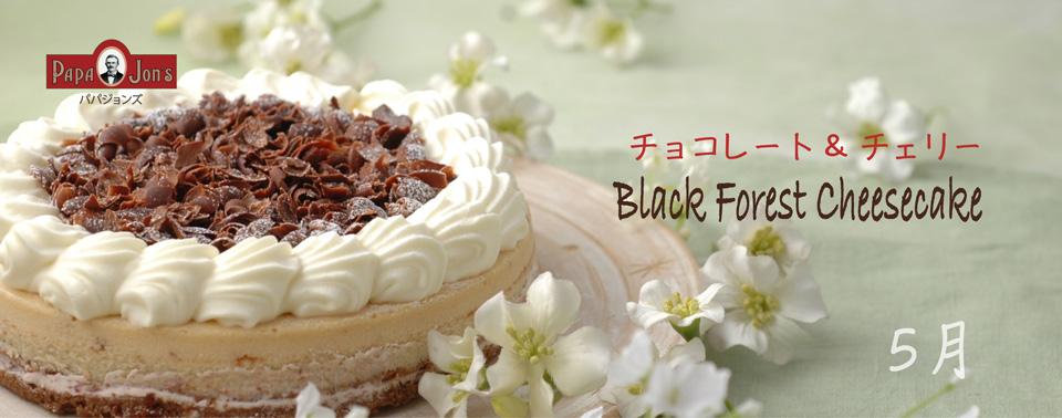 ブラックフォレストチーズケーキ