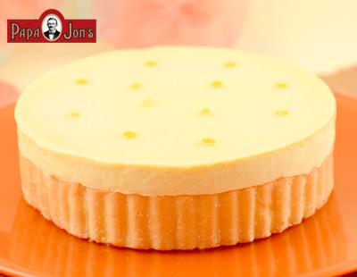 パッションフルーツ&グレープフルーツチーズケーキ