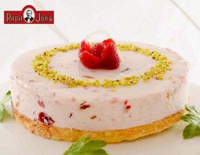 ラズベリーアーモンドチーズケーキ
