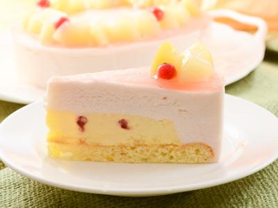 ジョージア ピーチムース チーズケーキ