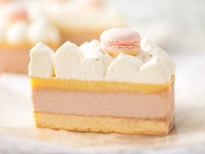 ストロベリー・ライムチーズケーキ