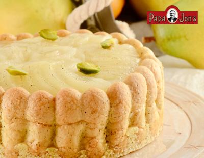 洋梨&アールグレイチーズケーキ