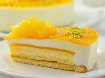 トロピカルフルーツチーズケーキ