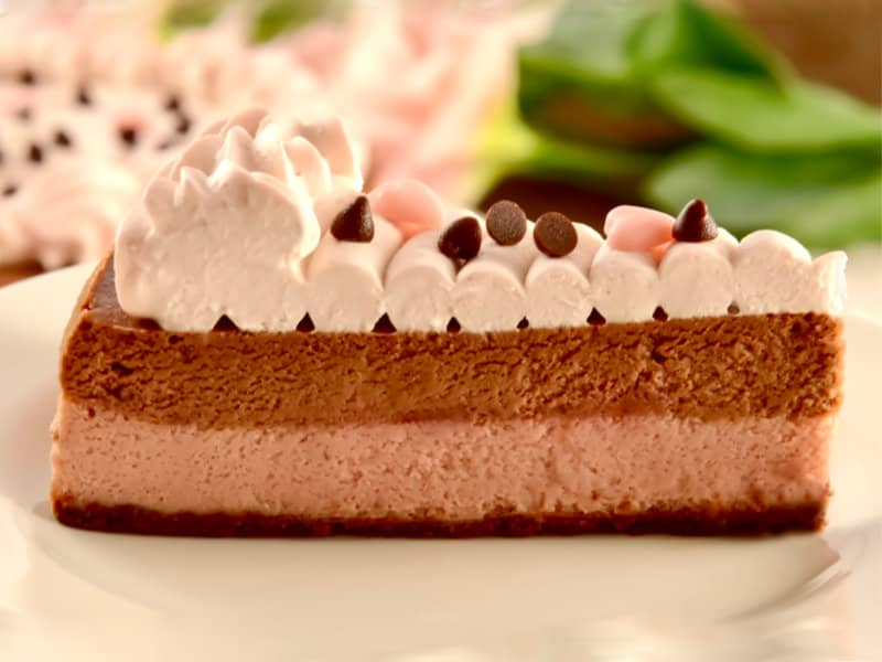 チョコフランボワーズチーズケーキ【2月限定】