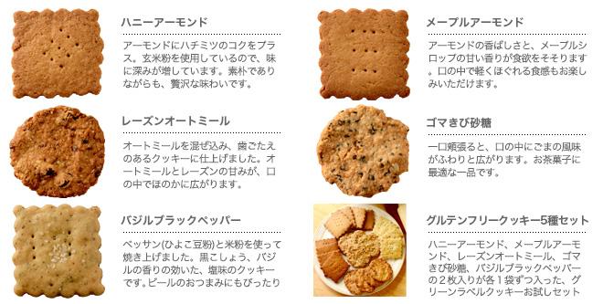 【GF】グルテンフリークッキーイメージ画像