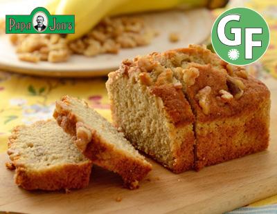【GF】バナナウォルナッツパウンドケーキ