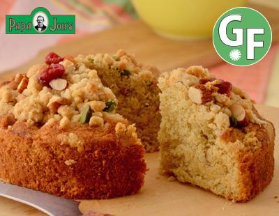 【GF】ヘーゼルナッツクラムケーキ